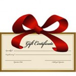 Gift Certificates Make Great Gifts!