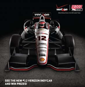 Verizon Indycar on display!
