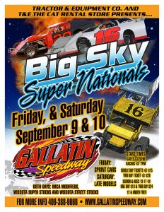 BIG SKY SUPERNATIONALS! presented by Tractor & Equipment Co. and The CAT Rental Store