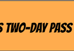 GRIZZLY NATIONALS TWO-DAY WRISTBAND