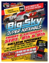 BIG SKY SUPERNATIONALS TICKETS ON SALE NOW!