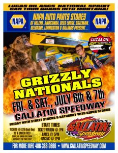 GRIZZLY NATIONALS JULY 6-7, 2-18