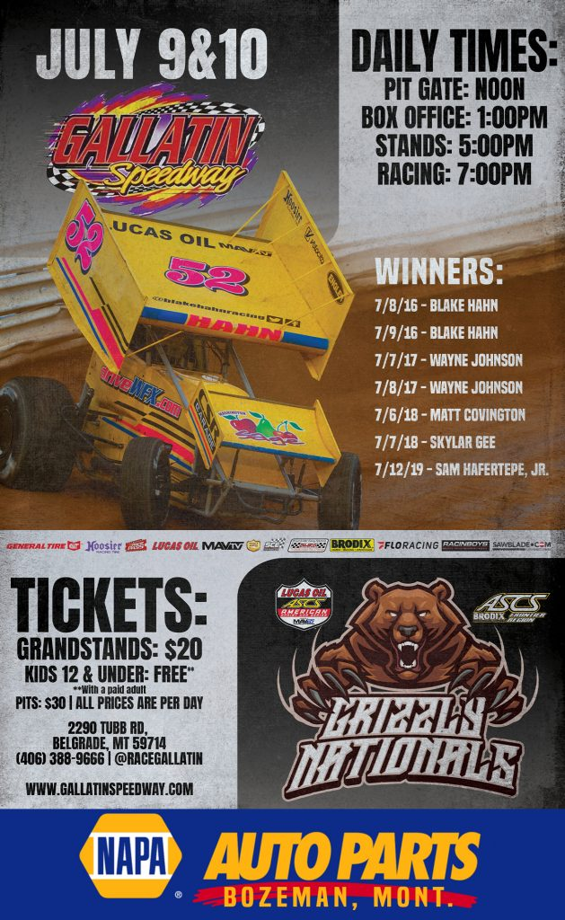 2021 GRIZZLY NATIONALS